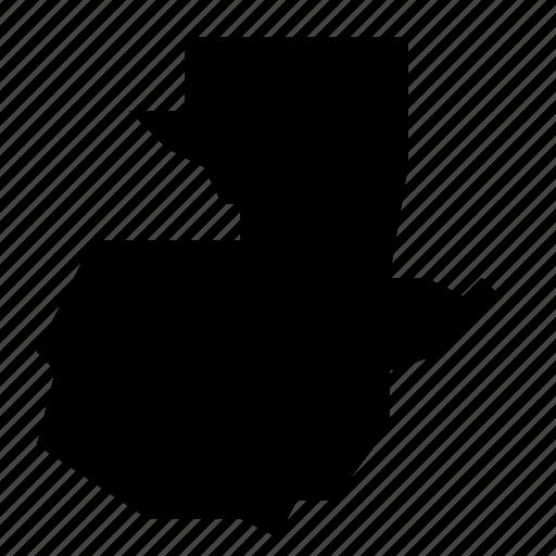 guatemala, map icon