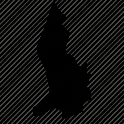 liechtenstein, map icon