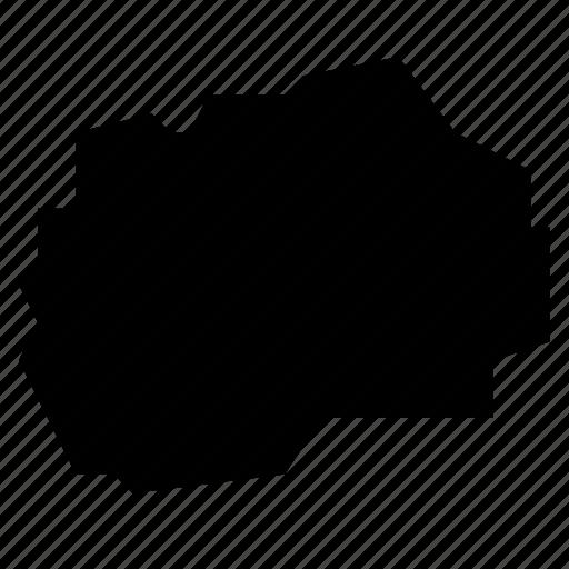macedonia, map icon