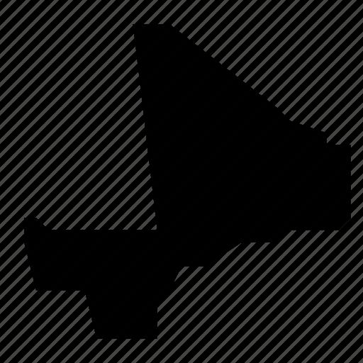 mali, map icon