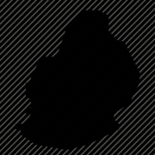 map, mauritius icon