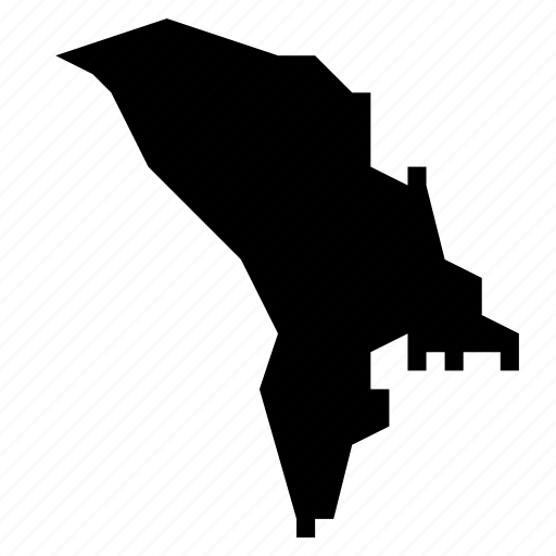 map, moldova icon