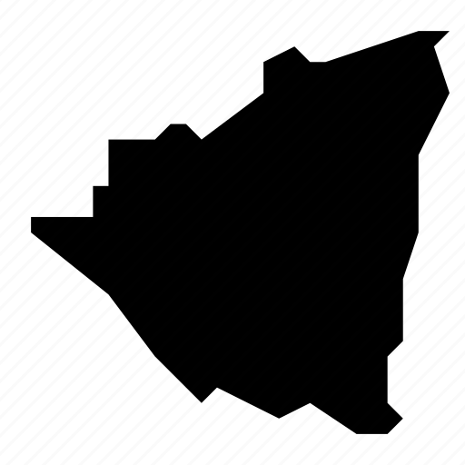 map, nicaragua icon