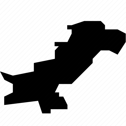 map, pakistan icon