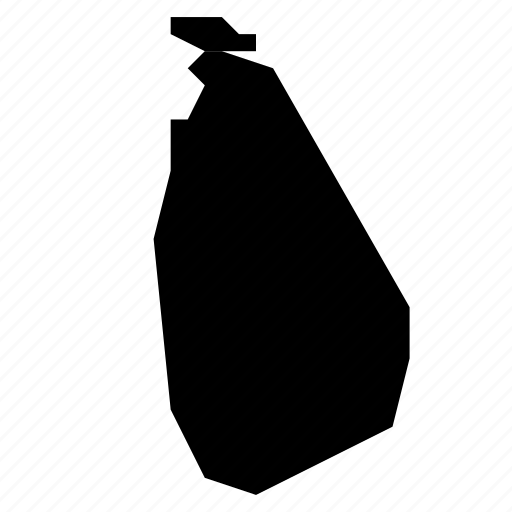 lanka, map, sri icon