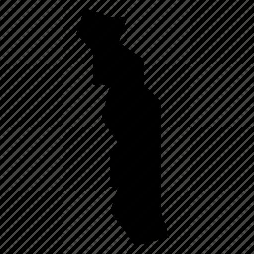 map, togo icon