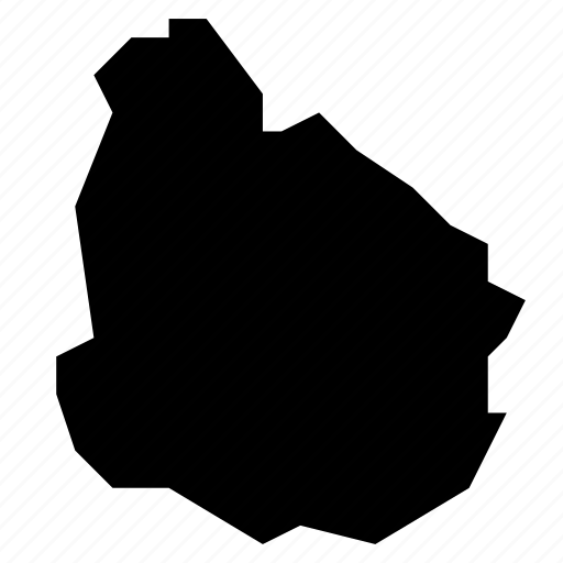 map, uruguay icon