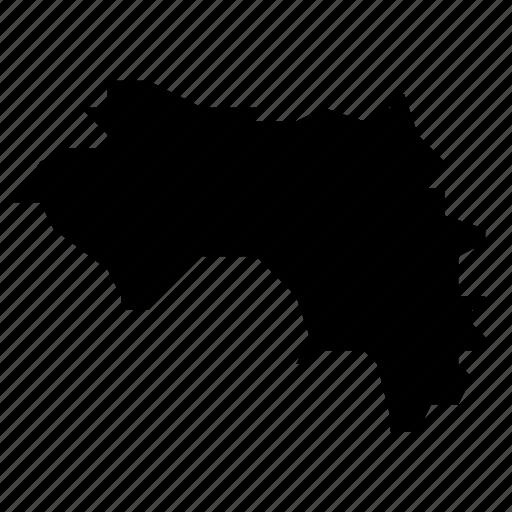 guinea, map icon