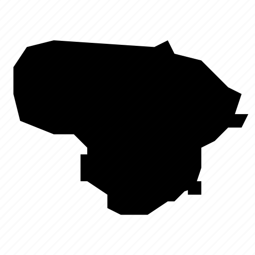lithuania, map icon