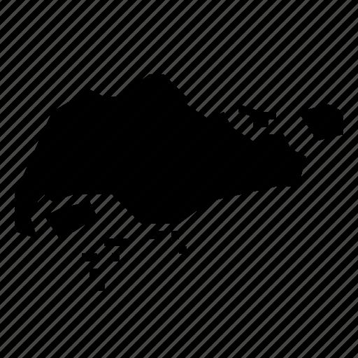 map, singapore icon