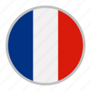 country, europe, flag, france, nation, national icon