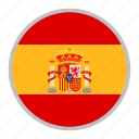 country, europe, flag, nation, spain icon
