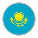 country, europe, flag, kazakhstan, nation, national icon