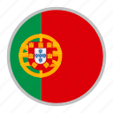 country, europe, flag, national, portugal icon