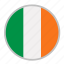 country, europe, flag, ireland, national icon
