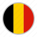 belgium, country, europe, flag, national icon