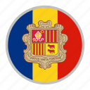 andorra, country, europe, flag, national