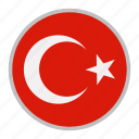 country, europe, flag, national, turkey