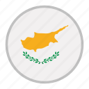 country, cyprus, europe, flag, national, republic icon