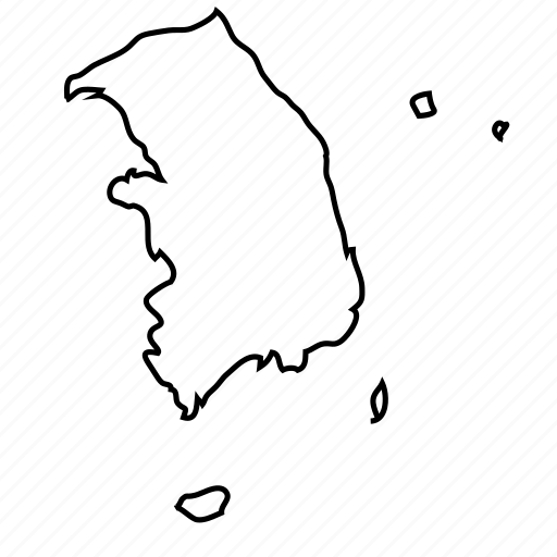 \'Countries of the World - Thin Line\' by Linseed Studio