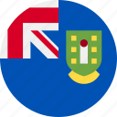 british, country, flag, islands, virgin icon