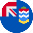 ball, cayman, country, flag, islands icon