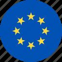 ball, country, european, flag, union icon