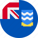 ball, country, falkland, flag, islands icon