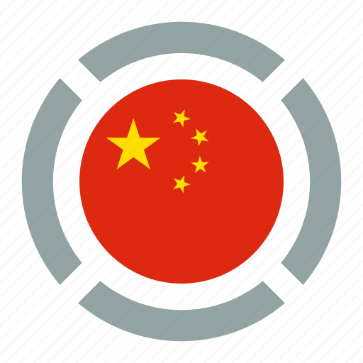 country, flag, location, nation, navigation, pin, the republic of china flag icon