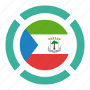 country, equatorial guinea, flag, location, nation, navigation, pin icon