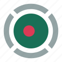 bangladesh, country, flag, location, nation, navigation, pin icon