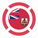 bermuda, country, flag, location, nation, navigation, pin icon