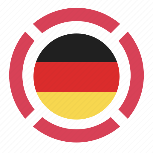 country, flag, germany, location, nation, navigation, pin icon