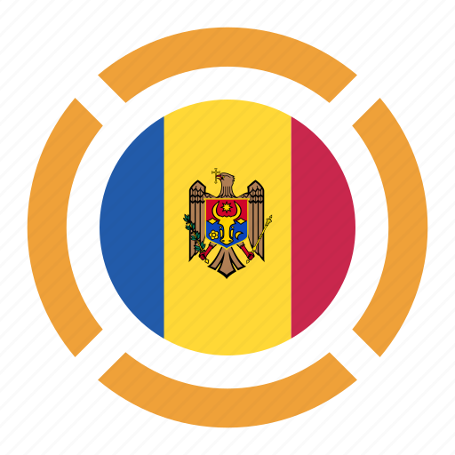 country, flag, location, moldova, nation, navigation, pin icon