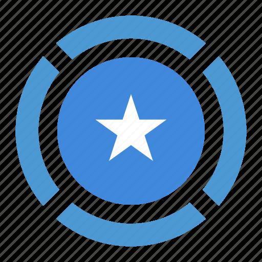 country, flag, location, nation, navigation, pin, somalia icon