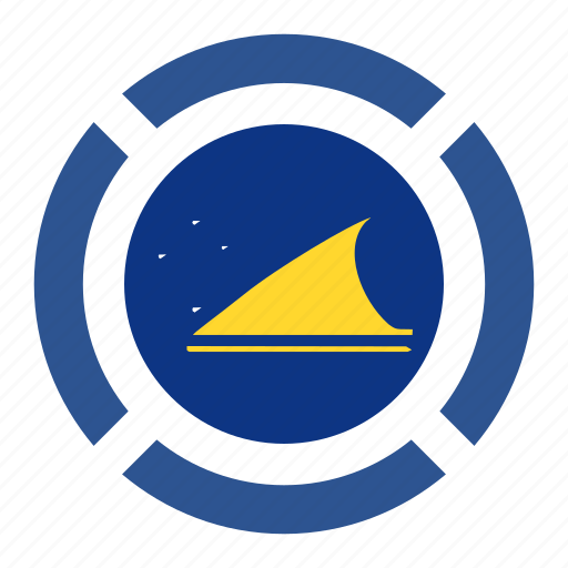 country, flag, location, nation, navigation, pin, tokelau icon
