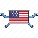 america, country, flags, shield, states, united, usa icon