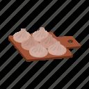 cooking, dumplings, food, georgian, khinkali, national icon