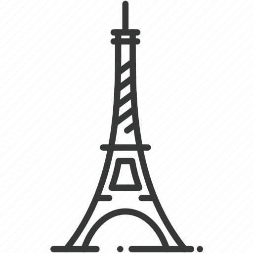 attraction, eiffel tower, france, paris, structure, tower, travel icon