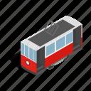 city, isometric, istanbul, street, taksim, tram, turkey icon