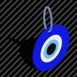 blue, eye, glass, good, isometric, luck, turkey icon
