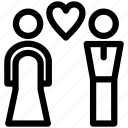 couple, romance, heart, love