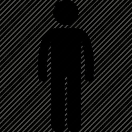 human, male, man, person, single icon