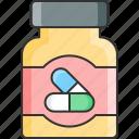 bottle, medicine, pills, tablets