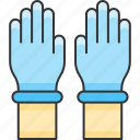 gloves, hand, protection, safety