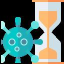 coronavirus, covid, disease, incubation, infection icon