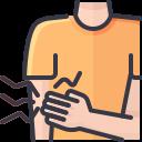 coronavirus, covid, muscle, pain, symptom icon