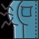 coronavirus, covid, finger, hands, pain, symptom icon