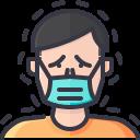 coronavirus, covid, face mask, human, mask, person, wear icon
