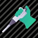 lab, dropper, pipette, hand